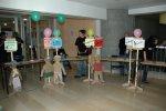 Activités des enfants et maquillage lors du colloque de St Etienne