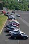 Concentration de Porsche au circuit de Charade