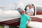 Les ailes de l'espoir à  l'aéro-club de Libourne le 12 mai 2012